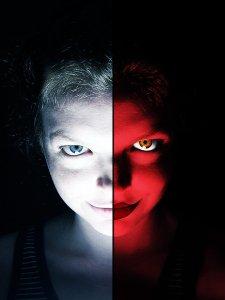 Good_vs_Evil_by_umerr2000